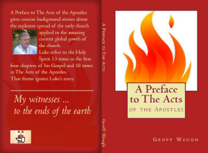 A A Preface to The Acts All