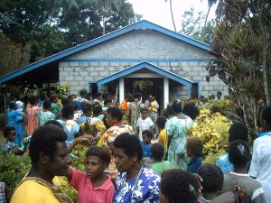 Bible College Chapel on Pentecost Island, Vanuatu