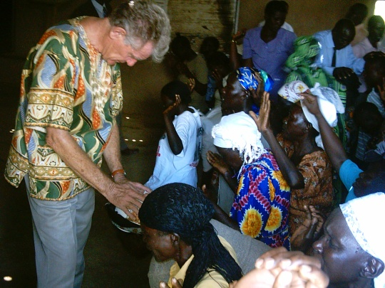 Praying for leaders in Kenya