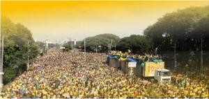 March for Jesus, Brazil