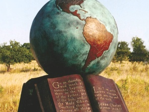 The Great Commission sculpture by Max Giener