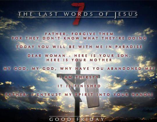 Easter Friday 7 words