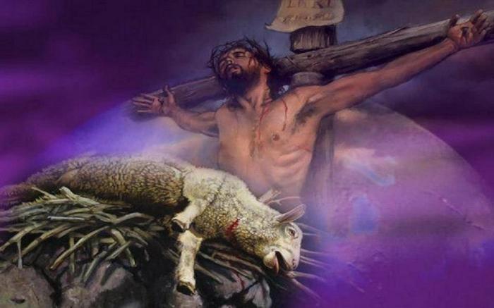 Image result for Jesus Christ lamb of God, lion of judah