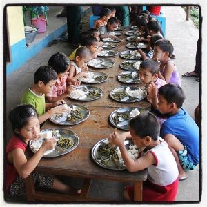 Orphans & needy kids' first visit to a restaurant - $2 each!