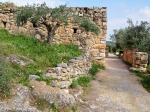 Nazareth Village path and houses