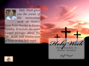 A Holy Week All